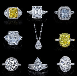 Stunning Diamond Shapes & Colours