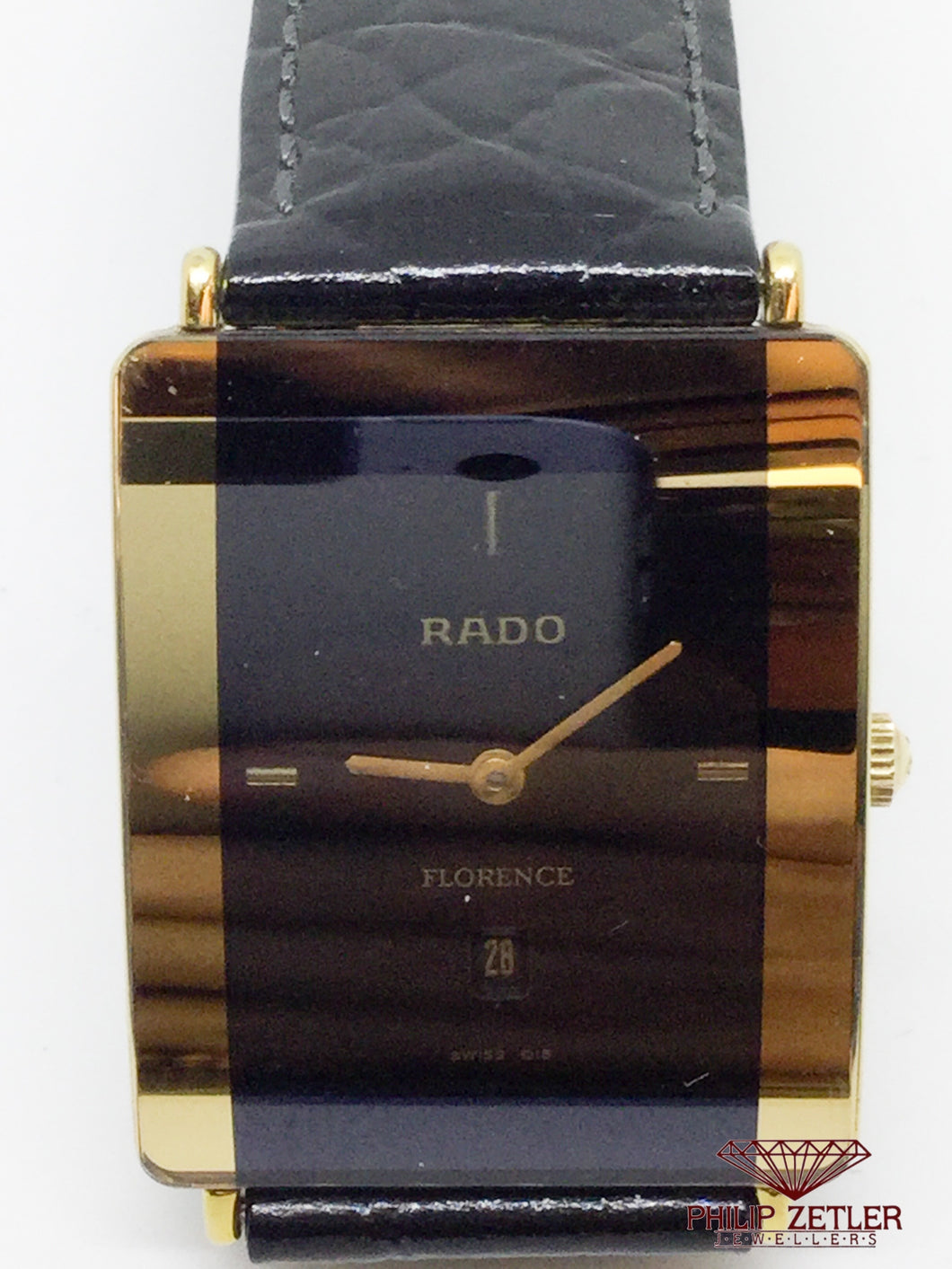 Rado Watch On Leather
