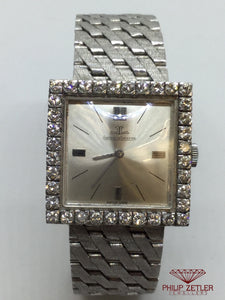 Jaeger Le Coultre Ladies SQuare Diamond Cocktail Watch