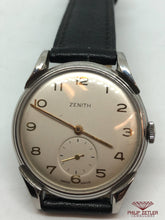 Laden Sie das Bild in den Galerie-Viewer, Zenith Vintage Watch 1950s
