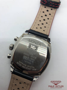 Tag Heuer Monza Chronograph Tonneau Shaped