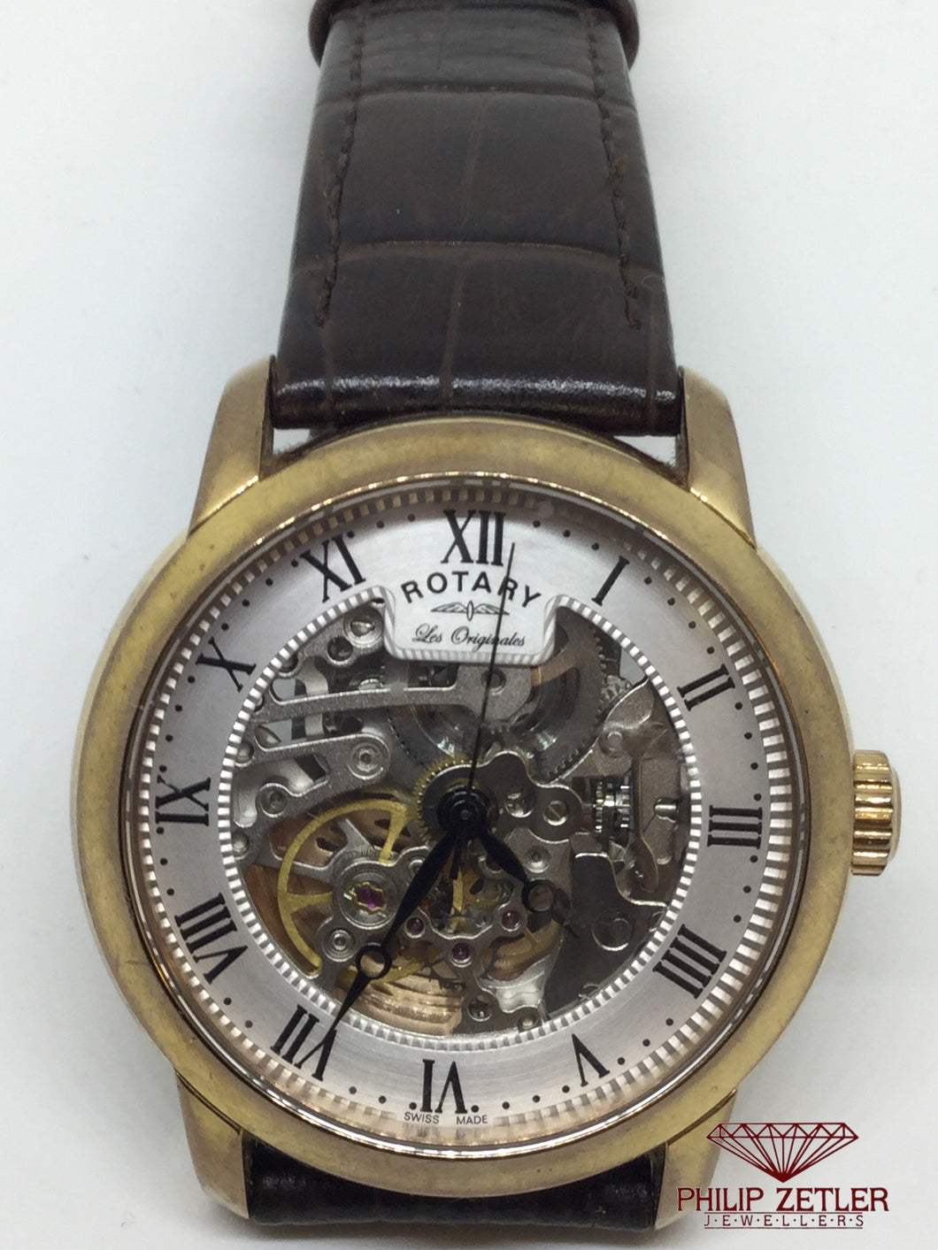 Rotary Skeleton Watch