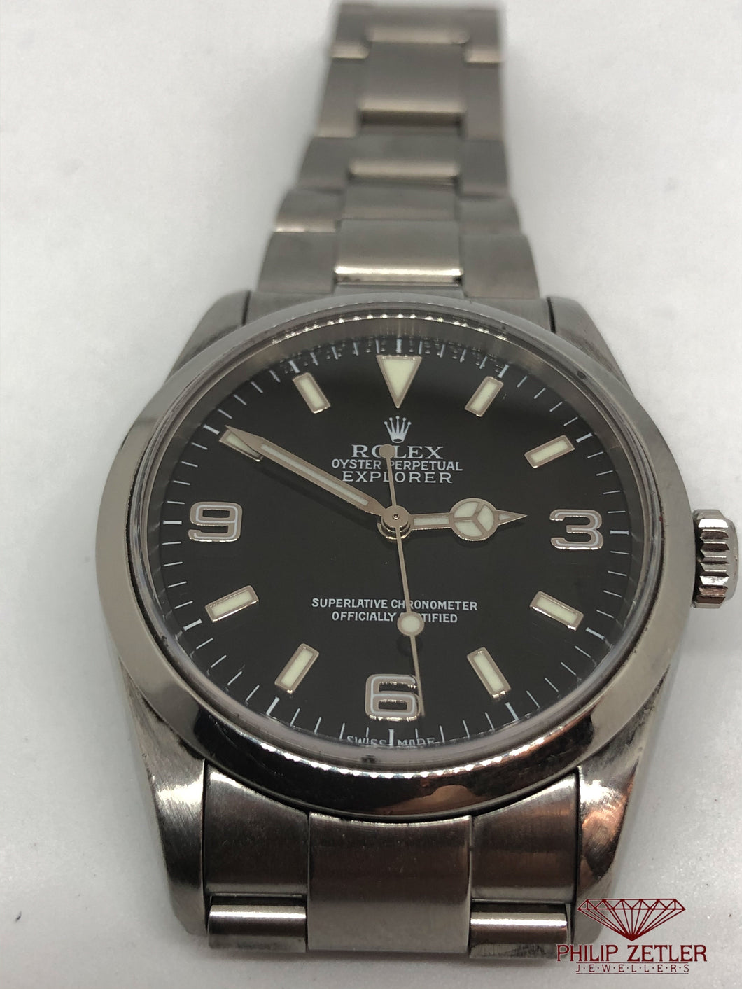 Rolex Stainless Steel Explorer1 - Reference 114270
