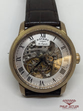 Load image into Gallery viewer, Rotary Skeleton Watch