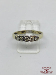9ct Gold Diamond Eternity Ring