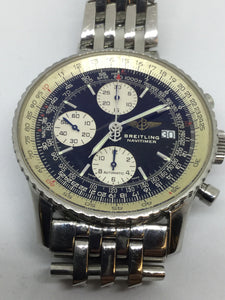 Breitling Stainless Steel Navitimer Automatic Chronograph