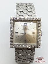 Load image into Gallery viewer, Jaeger Le Coultre Ladies SQuare Diamond Cocktail Watch