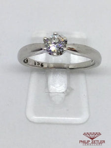 18ct Diamond & White Gold Cartier Design Ring