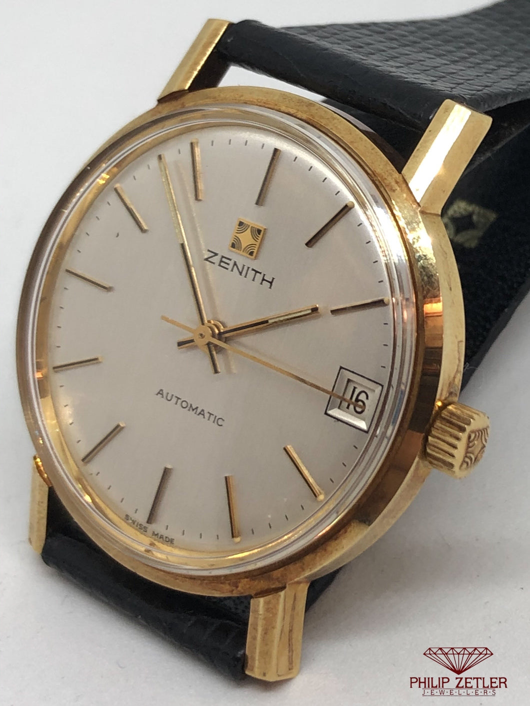 Zenith 18ct Analogue Automatic (1970s )