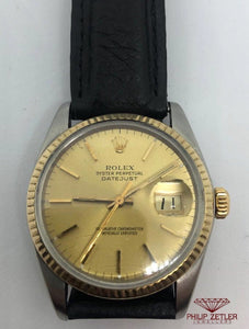Rolex Datejust  Gold & Steel