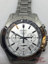 Load image into Gallery viewer, Seiko Steel  100m Chronograph