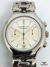 Load image into Gallery viewer, Tiffany & Co Tessoro Chronograph