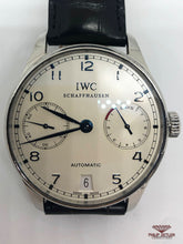 Load image into Gallery viewer, IWC Portuguese 7 Day Auto