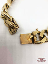 Load image into Gallery viewer, 9ct Gold Identity Bracelet