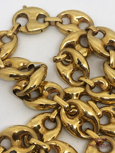 18ct Gold Gucci Link Chain