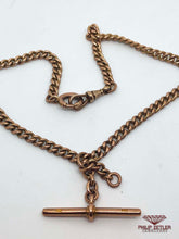 Load image into Gallery viewer, 9ct Rose Gold Fob Necklace and Pendant