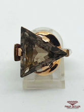 Load image into Gallery viewer, 9ct Topaz Trilliant & Rose Gold Ring