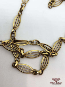 18ct Gold Long Guard Necklace
