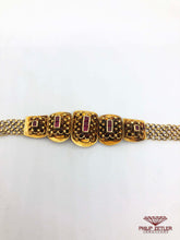 Load image into Gallery viewer, Ruby and Yellow Gold Bracelet