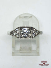 Load image into Gallery viewer, 18ct White Gold Diamond Ring