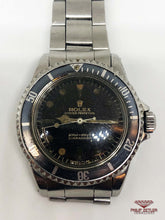"Load image into Gallery viewer, Rolex Submariner No Date ""Bart Simpson"" (1960) Reference 5513"
