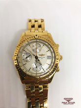"Load image into Gallery viewer, Breitling Chronomat ""18K Gold"" (1990)"