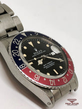 "Load image into Gallery viewer, Rolex GMT Master I ""Pepsi"" (1985)"