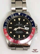 "Load image into Gallery viewer, Rolex GMT Master I ""Pepsi"" (1985) Reference 16750"