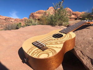 The Day Hiker Soprano Uke