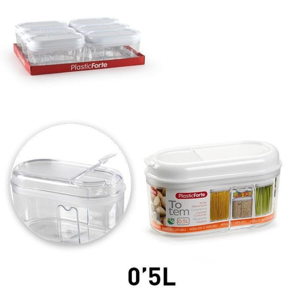 Plastic Food Storage Air Tight Container with Lock