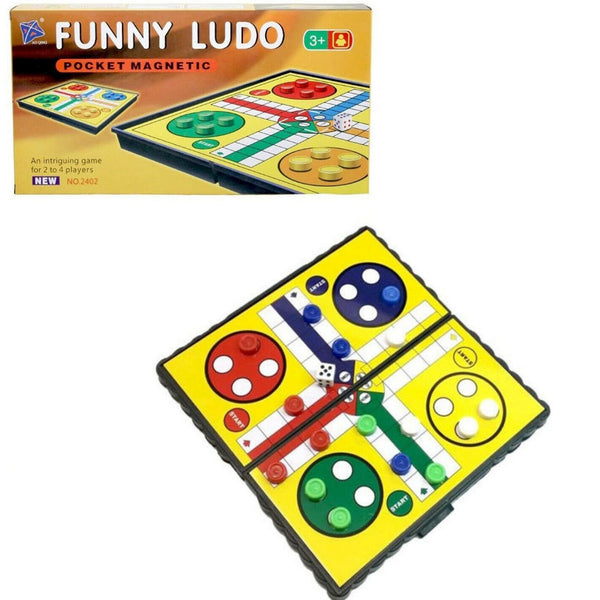 31cm Portable Folding Ludo