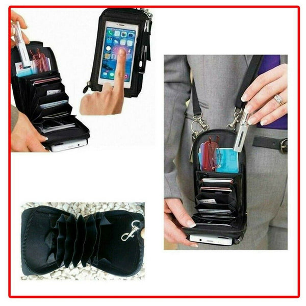 Mobile Touch Purse Smart Phone & Card Holder Bag