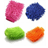 Microfibre Wash Mitt Cleaning Cars Windows & Dusting
