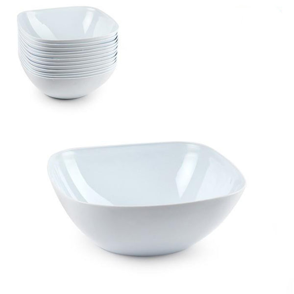 Plastic Chef Square Serving Bowl 1.8L