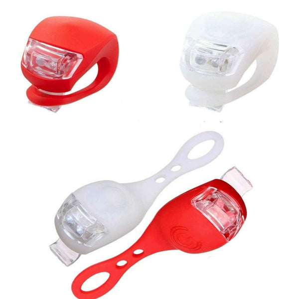 Silicone Bicycle Front Rear Lights