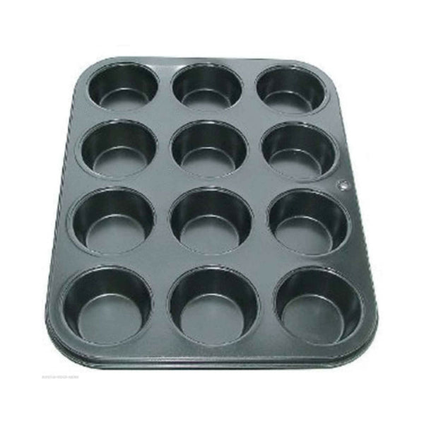 12 Cup Muffin Cake Pan Baking Tray