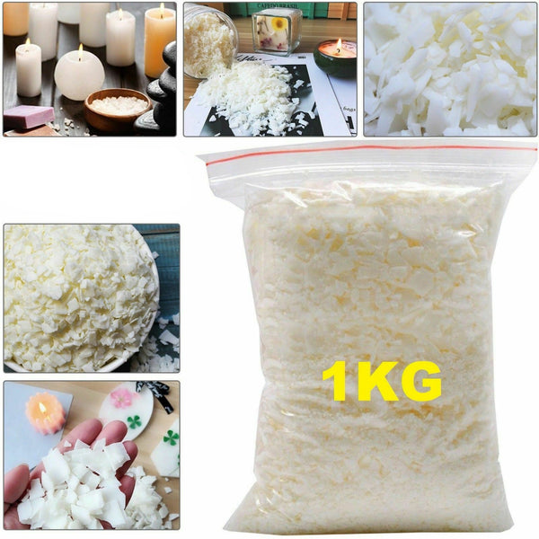 Natural 1KG Soya Candle Wax