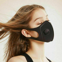 Air Flow Filter Face Mask Reusable