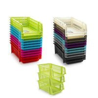 Plastic Shed Stackable Storage Rack