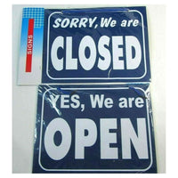 Double Sided Open Closed Flip Hanging Sign