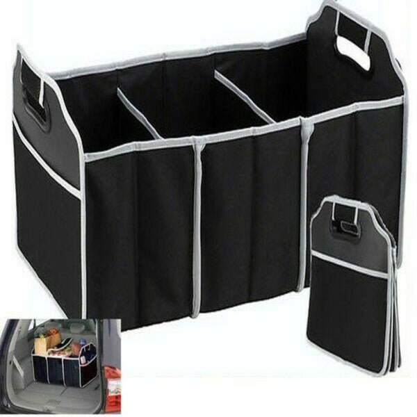 2 in 1 Foldable Collapsible Car Boot Organiser Storage