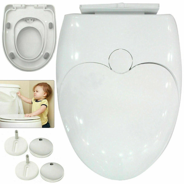 Soft Close Dual Family Child Toilet Potty Seat Cover