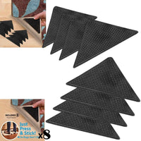 8 X Rug Carpet Mat Grippers Ruggies