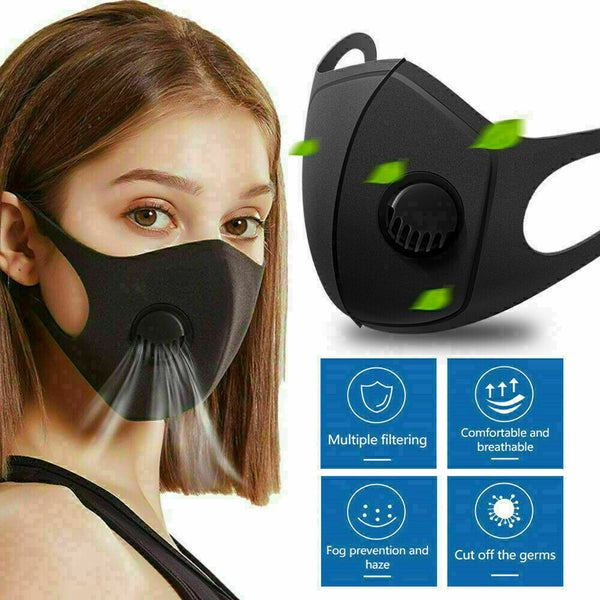 Washable Face Filter Protection Mouth Mask