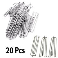 20 X Strong Metal Curtain Goblets Hooks