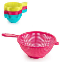 Strainer Bowl Colander Plastic Mixing With Handle 24cm
