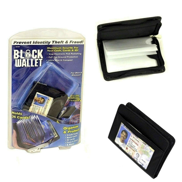 Anti Theft Lock Wallet for Security Purpose Anti RFID