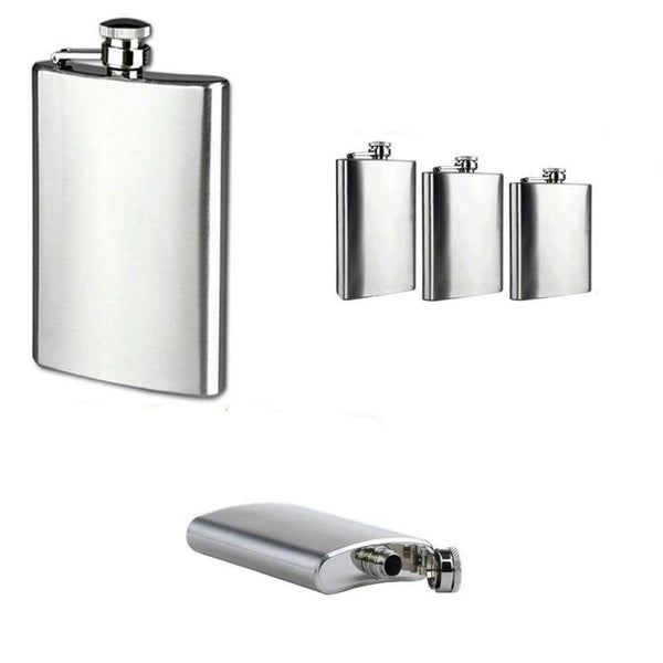Stainless Steel Hip Flask 6/7/8oz