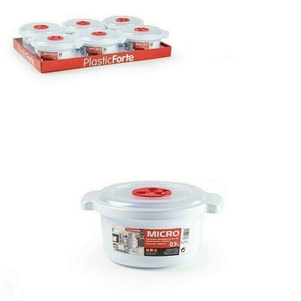 Plastic Hot Pot Food Storage Container With Lid
