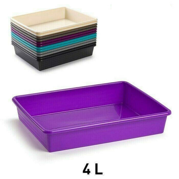 Plastic Sturdy Food Catering Tray